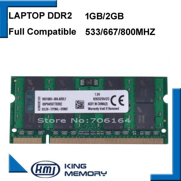 $5.86 (Buy here: https://alitems.com/g/1e8d114494ebda23ff8b16525dc3e8/?i=5&ulp=https%3A%2F%2Fwww.aliexpress.com%2Fitem%2FLaptop-RAM-DDR2-2GB-1GB-800MHz-667MHZ-PC2-6400-53001G-2G-notebook-memory-200PIN-original%2F32627828566.html ) Laptop RAM DDR2 2GB 1GB 800MHz/667MHZ PC2 6400 53001G 2G notebook memory 200PIN original for just $5.86