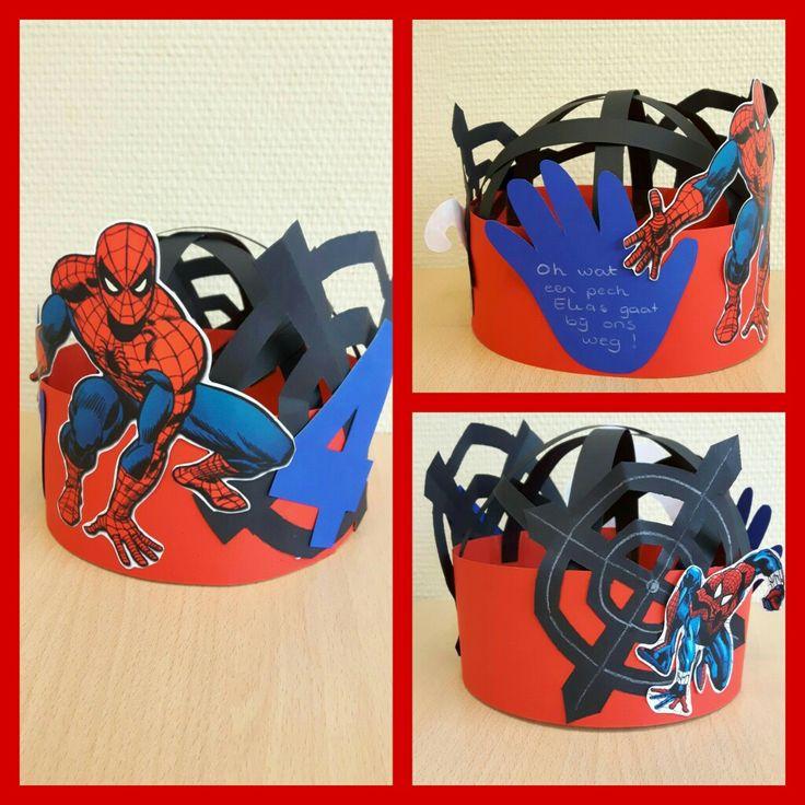 Spiderman feesthoed
