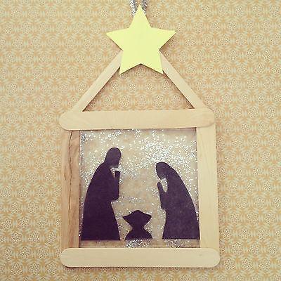 Cute nativity craft for kids