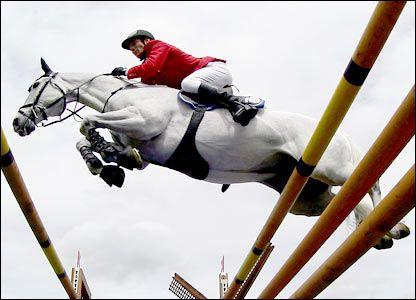 photos from under horses jumping | Show Jumping at Olympic Modern Pentathlon