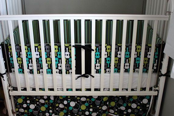 crib bumper and crib skirt tutorial