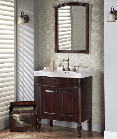 fairmont designs maui bathroom vanity set in dark cherry - Bathroom Cabinet Design Ideas