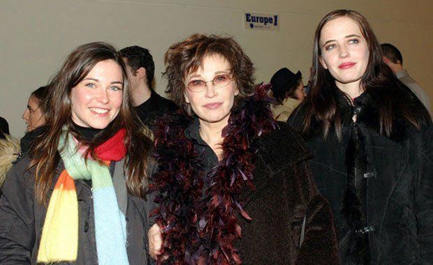 Joy (Johanne) & Eva Green (here w/ their mother, former actress, now children's book author, Marlène Jobert; their dad is dentist Walter Green)  |  It is a lesser known fact that actress Eva Green has a non-identical (fraternal) twin sister (2 mns. younger than her) Joy, who studied business & is married to an Italian count. They were born in Paris.