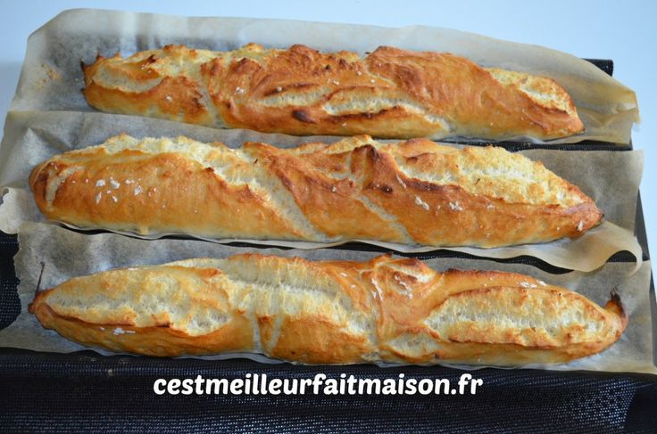 54 best images about pains et pains du monde on pinterest for Baguette de pain maison