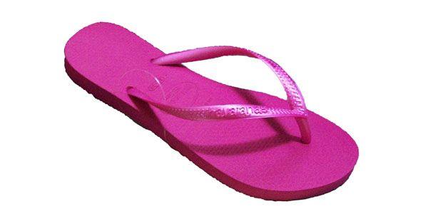 Havaianas Neon Pink Flip Flops (RIP)