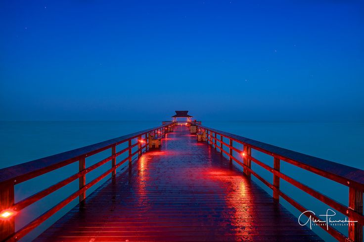 Thūncher Photography posted a photo:  On deck beneath a star-filled sky at the pier in Naples Florida, on one of the steamiest most humid mornings I've ever experienced. Not a single drop of rain fell over night, yet the town was dripping wet from the near 100% humidity.  Location: Naples, Florida  For daily photos, updates and musings on all things photography - please like my Facebook page via the link below.  www.facebook.com/thuncherphotography  You can also visit my website at…