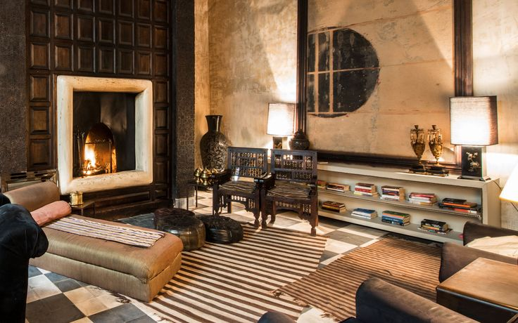 Prostor navržený pro relax | hotel Dar Darma, Marakéš |   foto: Stefano Scatà