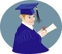 Boy, Class, Comic Characters, Diploma