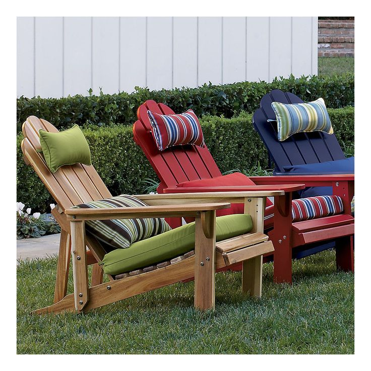 Diy Adirondack Chair Cushions WoodWorking Projects & Plans