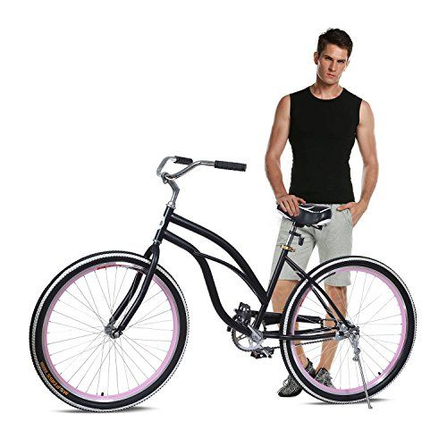 Ancheer Singel speed Beach Cruiser Bicycle 26 Inch for Urban Lady http://coolbike.us/product/ancheer-singel-speed-beach-cruiser-bicycle-26-inch-for-urban-lady/