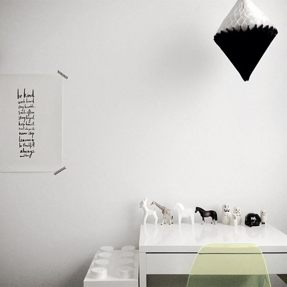 Curated By - Renata home interior Black and White