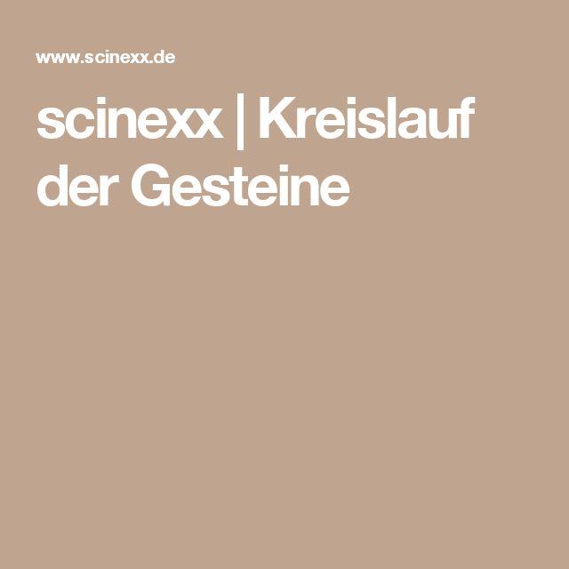 scinexx |   Kreislauf der Gesteine
