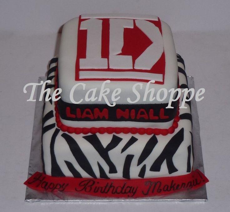 1D cake. Idea for Olivia's birthday.