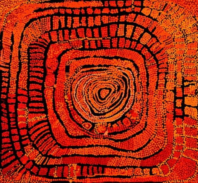 Darwni Aboriginal Art Fair - Papunya Tula artists