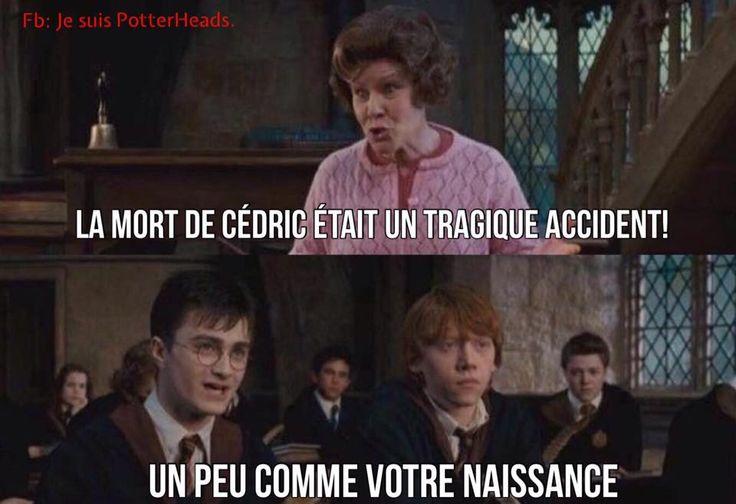 Bien dit, M. Potter. Et dans ta face, le vieux crapeau!!