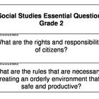 Never write another Essential Question again!  This set of cards includes an essential question on the front along with the North Carolina Science ...
