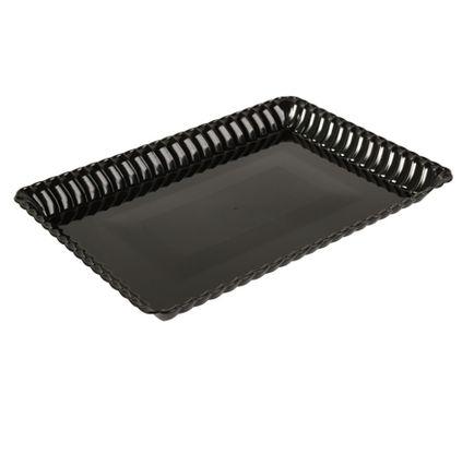Plastic Black 9\  x 13\  Serving Tray- Bulk - 48 Serving Trays#  sc 1 st  Pinterest & 34 best ~BLACK ELEGANT PLASTIC PARTY SUPPLIES~ images on Pinterest ...