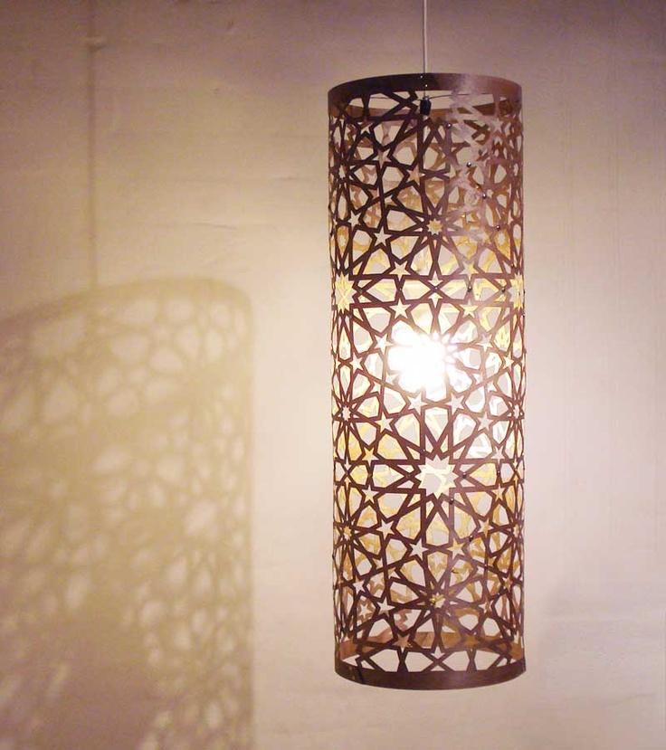 Storey St Artery Pendant Lamp In Islamic Design