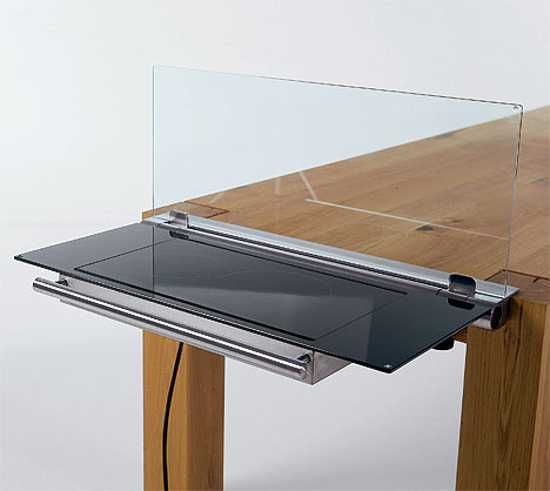 Modern Tables For Small Kitchens Show Adjustable Multifunctional Space  Saving Furniture Design
