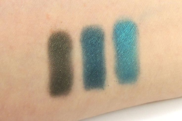 Urban Decay, Urban Spectrum Palette. Green Row Left to right: Protest, Junkie and Deep End