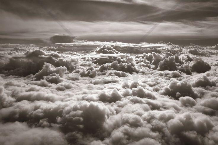 Above Clouds - Fotobehang & Behang - Photowall