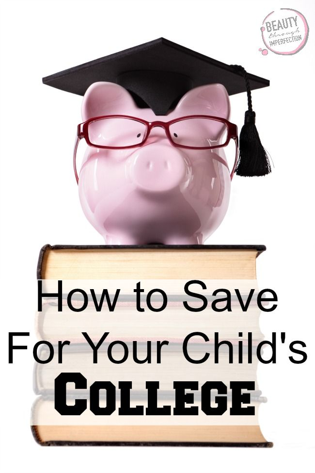 How to Save For College - Beauty Through Imperfection