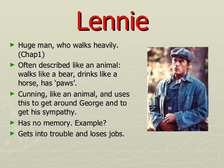 an analysis of the lennies death in the novel of mice and men by john steinbeck This one-page guide includes a plot summary and brief analysis of of mice and men by john steinbeck of mice and men summary novel, george and lennie.