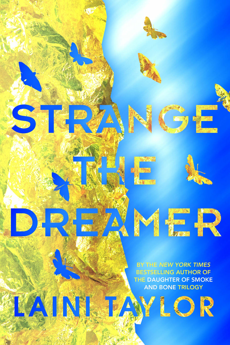 Strange The Dreamer is a fantasy novel about aftermath of a clash between gods and men