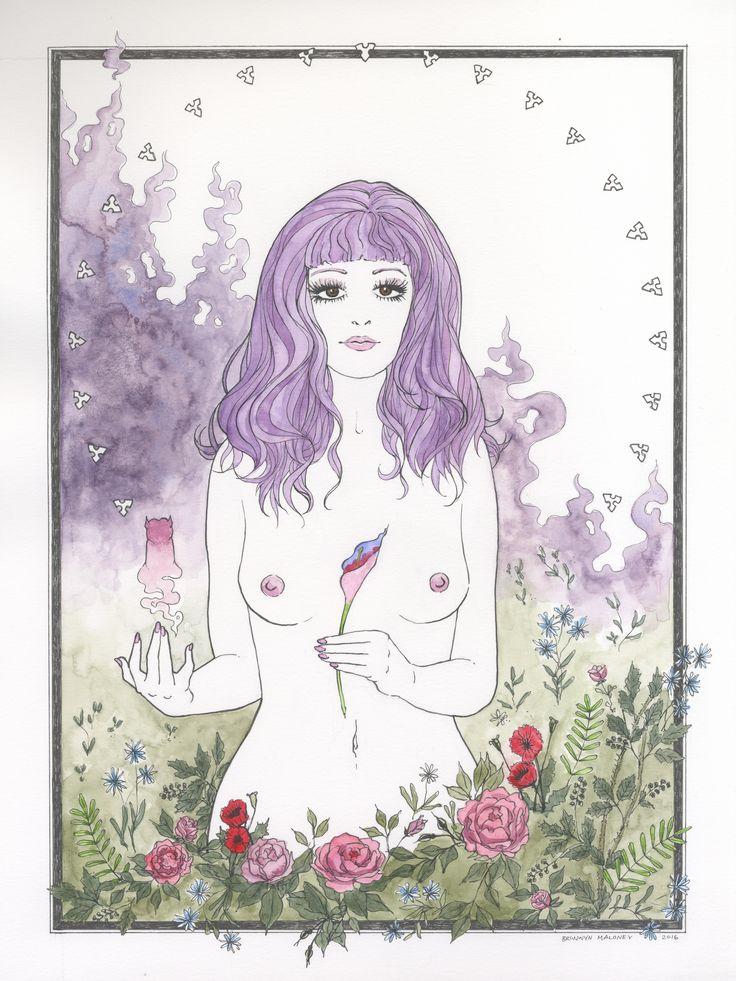 Belladonna of Sadness art contest entry from artist Bronwyn Maloney.
