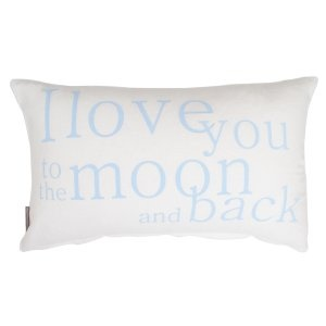 i love you to moon - baby blue