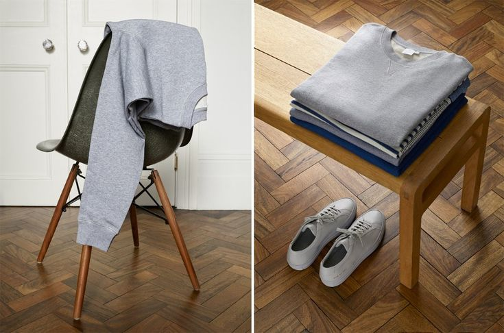 The grey sweatshirt by Mr Porter -02
