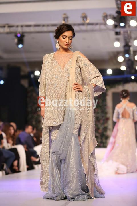 #republic by #OmarFarooq presenting bridal collection in #pakistanBridalWeek pinned by #SidraYounas
