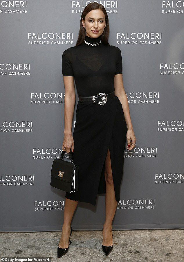 Irina Shayk and Tyler Cameron look gorgeous as they pose together at Falconeri l…