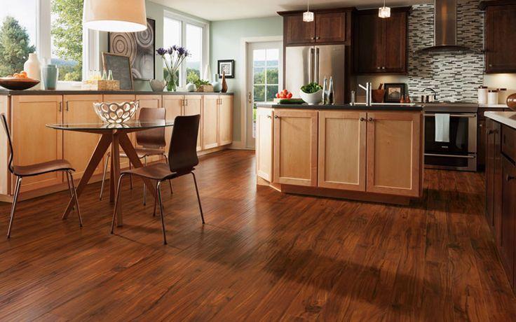Laminate Flooring In Kitchen Wooden, What Is The Best Laminate Flooring For Kitchen