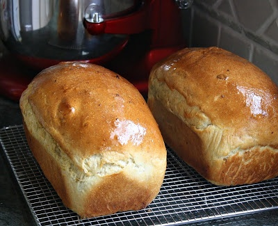 Yukon Gold potato bread . . .