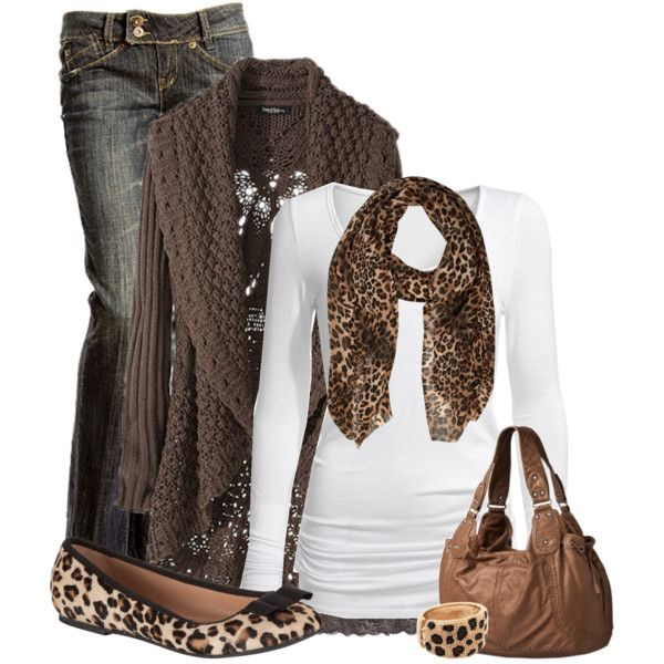 Casual Outfits Winter Outfits | Cute Winter Outfits 2012 | Leopard Love | Fashionista Trend