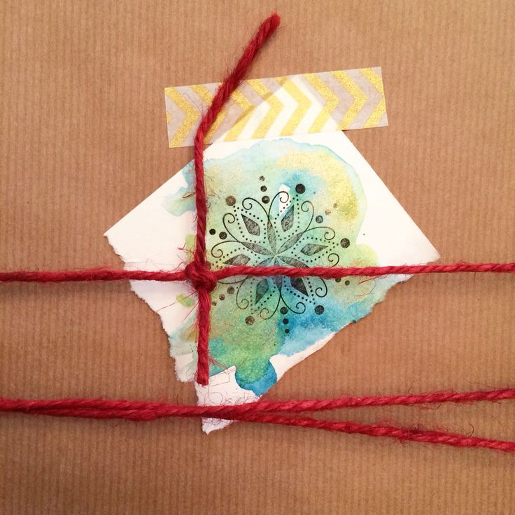 Kate Ryckman  2015 Holiday gift tags and wrapping.