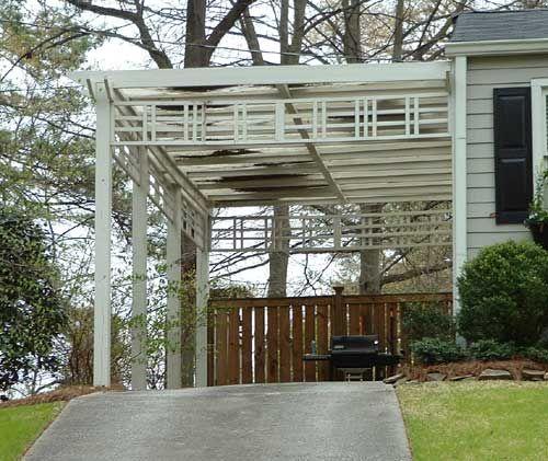 Inspiring Pergola Garage 6 Architectural Design Carport: 62 Best Images About Carports & Garages On Pinterest