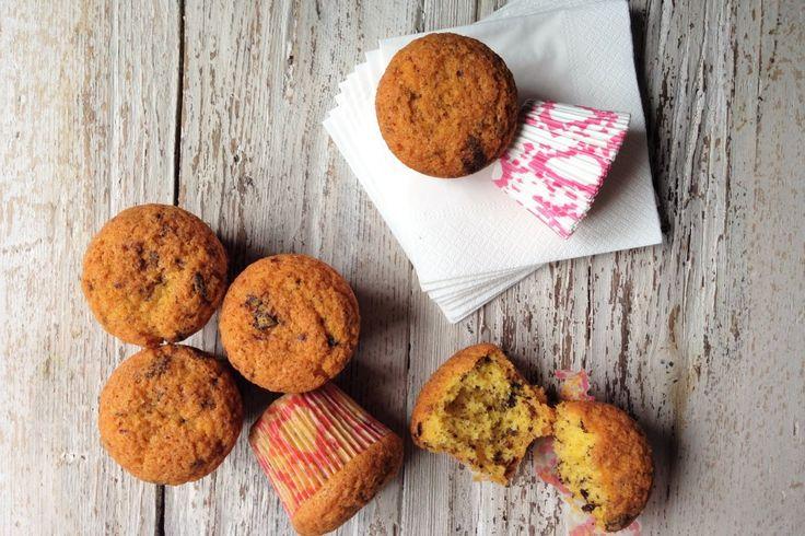 MUFFIN CON CIOCCOLATO AL SALE http://www.congranodisale.it/muffin-con-cioccolato-al-sale/