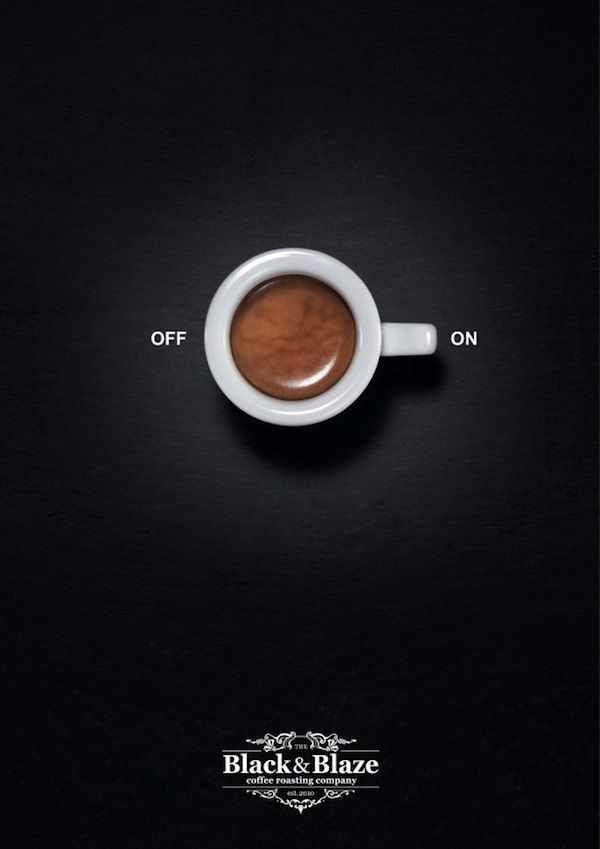 This Coffee Campaign Illustrates Home Appliance Symbols #coffee #coffeecup trendhunter.com
