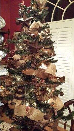 3 foot primitive Christmas Tree