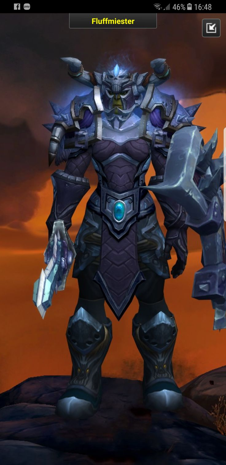Really happy with my warriors transmog now ! #worldofwarcraft #blizzard #Hearthstone #wow #Warcraft #BlizzardCS #gaming