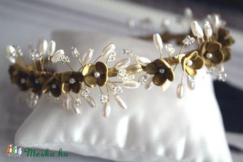 Meska - Viola vintage hajpánt Aggies kézművestől