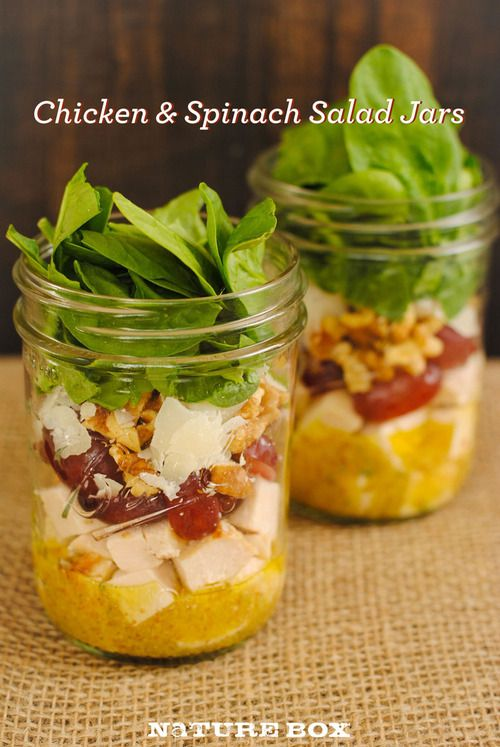 This hearty mason jar salad will keep you full and feeling healthy all day long.