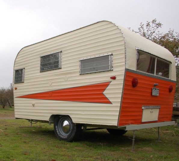 """~ ~ THIS TRAILER IS NOW SOLD ~ ~ Rare 1967 Roadrunner 13 ft Camper Trailer. This beautiful, elegant trailer, """"Pearl"""", has been fully remodeled and updated from the frame up by professi…"""