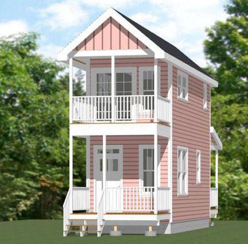 Ebay Apartment For Rent: 10x28 Tiny House -- 475 Sq Ft -- PDF Floor Plan -- Model 3