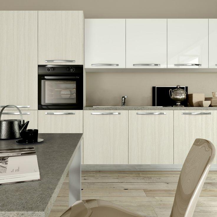 Oltre 25 fantastiche idee su cucine grigio bianco su - Top cucina grigio ...