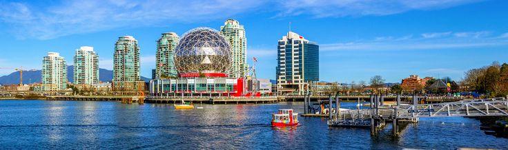Vancouver desde $6,676 pesos redondo saliendo de Cancún y CDMX, incluye Vuelo + 4 noches de hotel!!!