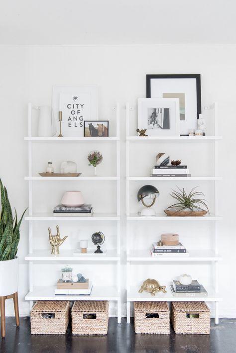 Minimalistische Deko.Regale Für Flur Oder Wohnzimmer Minimalistische Deko Rein