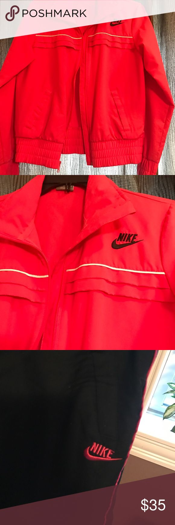 Nike jogging pants and jacket Nike jacket and Nike jogging pants has been worn a few times like new Nike Other